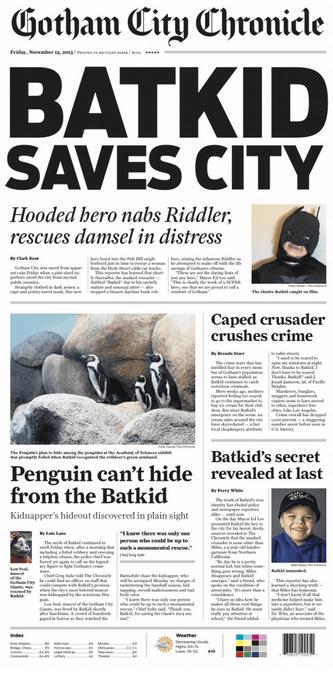 San Francisco Chronicle Bat Kid Brand PR